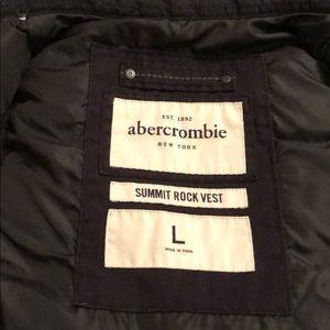Dark navy Abercrombie vest